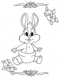cute bunny coloring pages coloring pages of baby animals affordable little people coloring
