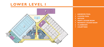 Recreation Center Floor Plan by Student Recreation Center