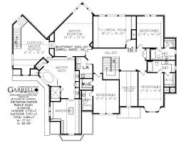 Dual Master Bedroom Floor Plans by Flemish Manor House Plan Estate Size House Plans