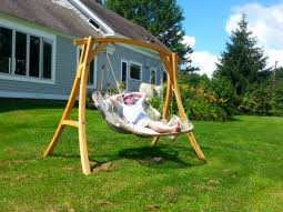 double hammock chair with footrest stowe craft gallery