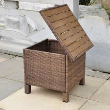 Outdoor Storage Ottoman Bench Awesome Outdoor Ottoman With Storage Regarding Outdoor Ottoman