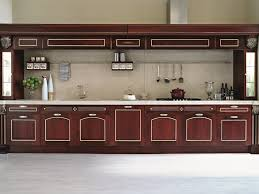 red wine european classic imperial kitchen cabinets european