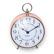 Old Fashioned Alarm Clocks Zone Alarm Clock Small Rose Gold Salt And Pepper Salt And Pepper