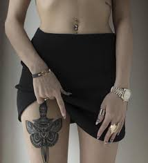 tattoos for women s thighs 64 incredible thigh tattoo designs and meanings tattoozza