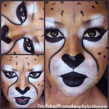 Youtube Halloween Makeup by Cheetah Makeup Tutorial For Halloween Youtube