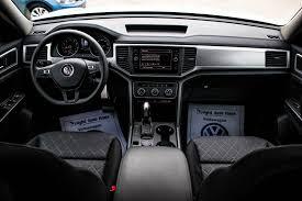 volkswagen atlas interior seating 2018 volkswagen atlas trendline awd sport utility auto haus