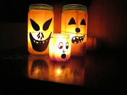 halloween glass jars createbellacreate tissue paper glass jar luminaries
