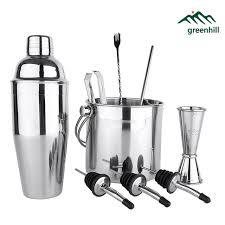 barware sets greenhill 9 pieces barware set cocktail shaker set including