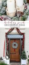 the 25 best christmas front porches ideas on pinterest