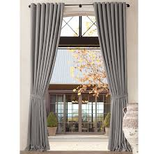 Hotel Drapes Restoration Hardware Outdoor Perennials Textured Linen Weave