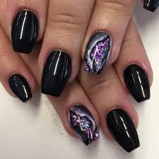 nail art nails and nail art neon shellac chevron pattern cool