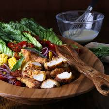 tarragon salad with southern fried chicken u2013 the right recipe