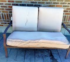 Recovering Patio Chair Cushions by New Canvas Covers For Old Patio Chair Cushions The Creative Studio