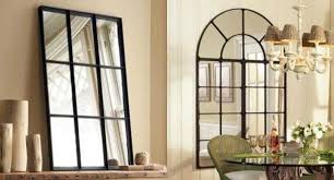 Ideas Design For Arched Window Mirror Modern Window Mirror Designs Bringing Nostalgic Trends Into Home