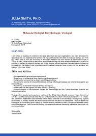 Biologist Resume Sample by Biologist Cover Letters