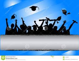Invitation Card For Graduation Day Graduation Day Celebration Stock Vector Image 41196591