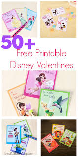 valentines day disney printables 50 cards for kids best of