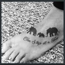 quote and family of elephant tattoomagz