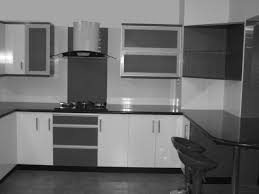 kitchen design beautiful white and yellow modular kitchen