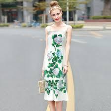 Design Dresses Aliexpress Com Buy 2017 Runway Design Dresses Women U0027s Summer