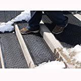 amazon com heattrak heated outdoor u0027no slip u0027 stair tread mat
