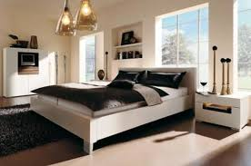 Classic Modern Bedroom Design by Bedroom Decor Brown Classic Natural Stone Wall Wooden