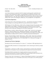 Resume Sample Secretary by Resume Sample General Counsel Templates