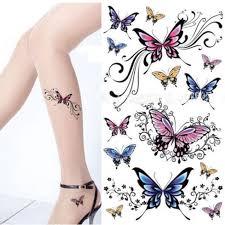 1pcs beautiful tattoo stickers henna tattoo paste temporary