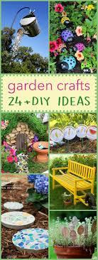 Garden Crafts Ideas Diy Garden Crafts 24 Beautiful Garden Crafts For Every Age