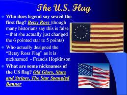 How Many Stars On Us Flag U S Flag Etiquette Ppt Download