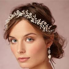 bridal tiaras vintage wax flower crowns bridal tiaras delicate forehead wrap