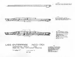 star trek enterprise floor plans u s s enterprise ncc 1701 construction profile blueprints