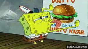 Spongebob Licking Meme Maker - spongebob licking poster on make a gif