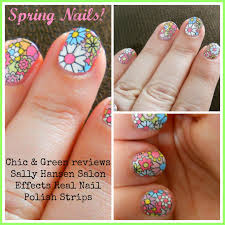 review sally hansen salon effects real nail polish strips the