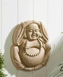 buddha garden wall hanging