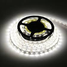 led daylight strip light amazon com ledmo smd5630 led strip light 300leds 16 4ft dc12v