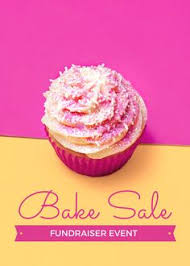 free bake sale flyer template cake could totally see customizing