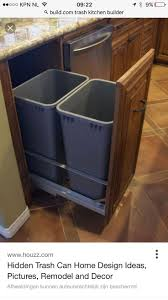 kitchen trash can ideas home design