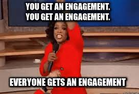 Engagement Meme - everyone gets an engagement engaged gif engaged engagement oprah