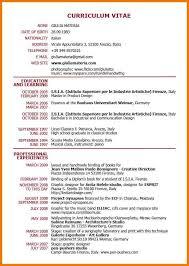 curriculum vitae templates pdf 8 format of a cv pdf postal carrier