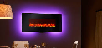 Electric Wall Fireplace Simplifire Wall Mount Electric Fireplace