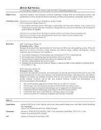 Xml Resume Example by Resume