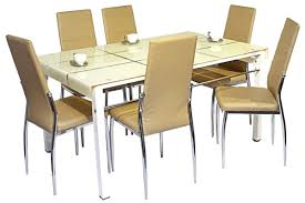 Dining Table Set Kolkata Dining Table 6 Seater Round Glass Dining Table Sets Find This