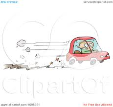 safari jeep front clipart clipart toon guy speeding away in a car in front of a fissure