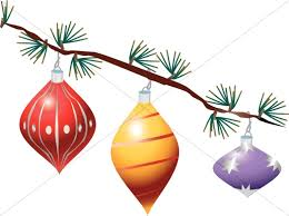 palm tree strung with lights traditional decoration