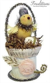 Easter Decorations Vintage by 326 Best Easter Displays Images On Pinterest Vintage Easter