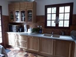 cuisine couleur bois cuisine modèle provençal couleur bois massif naturel