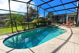 orlando villas south facing swimming pool