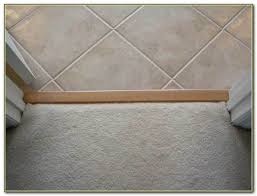 Floor Transition Ideas Floor Transition Strips Carpet To Tile Tiles Home Decorating