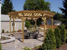 Free Standing Patio Plans Best 25 Free Standing Pergola Ideas On Pinterest Porch Roof